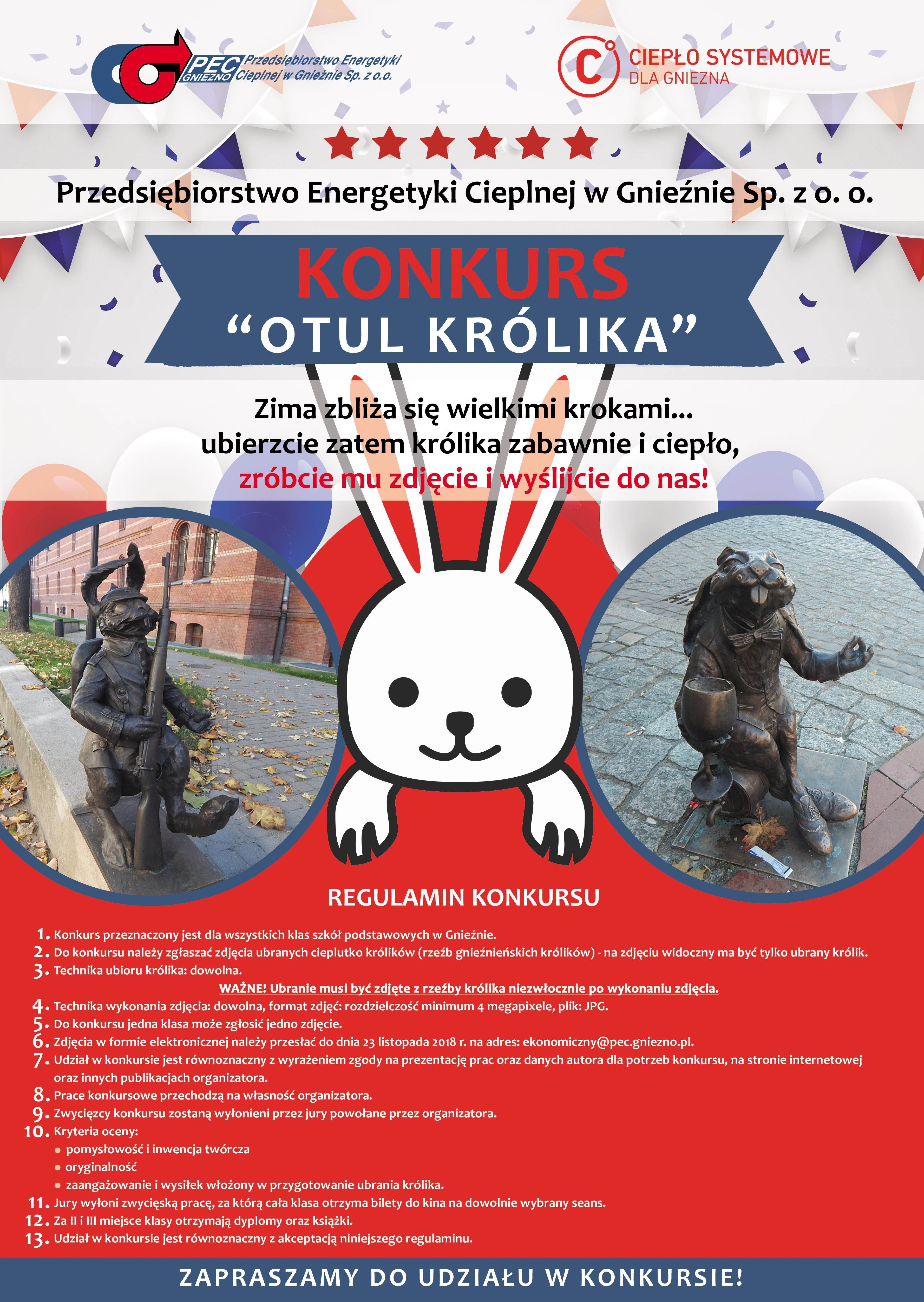 Plakat Otul królika