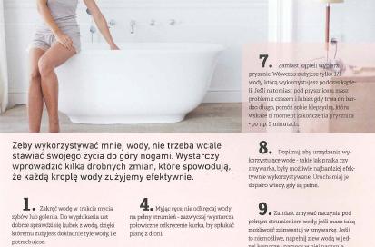 10 sposobów na oszczędzanie wody